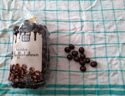 Schokolierte Kaffeebohnen - Product - de