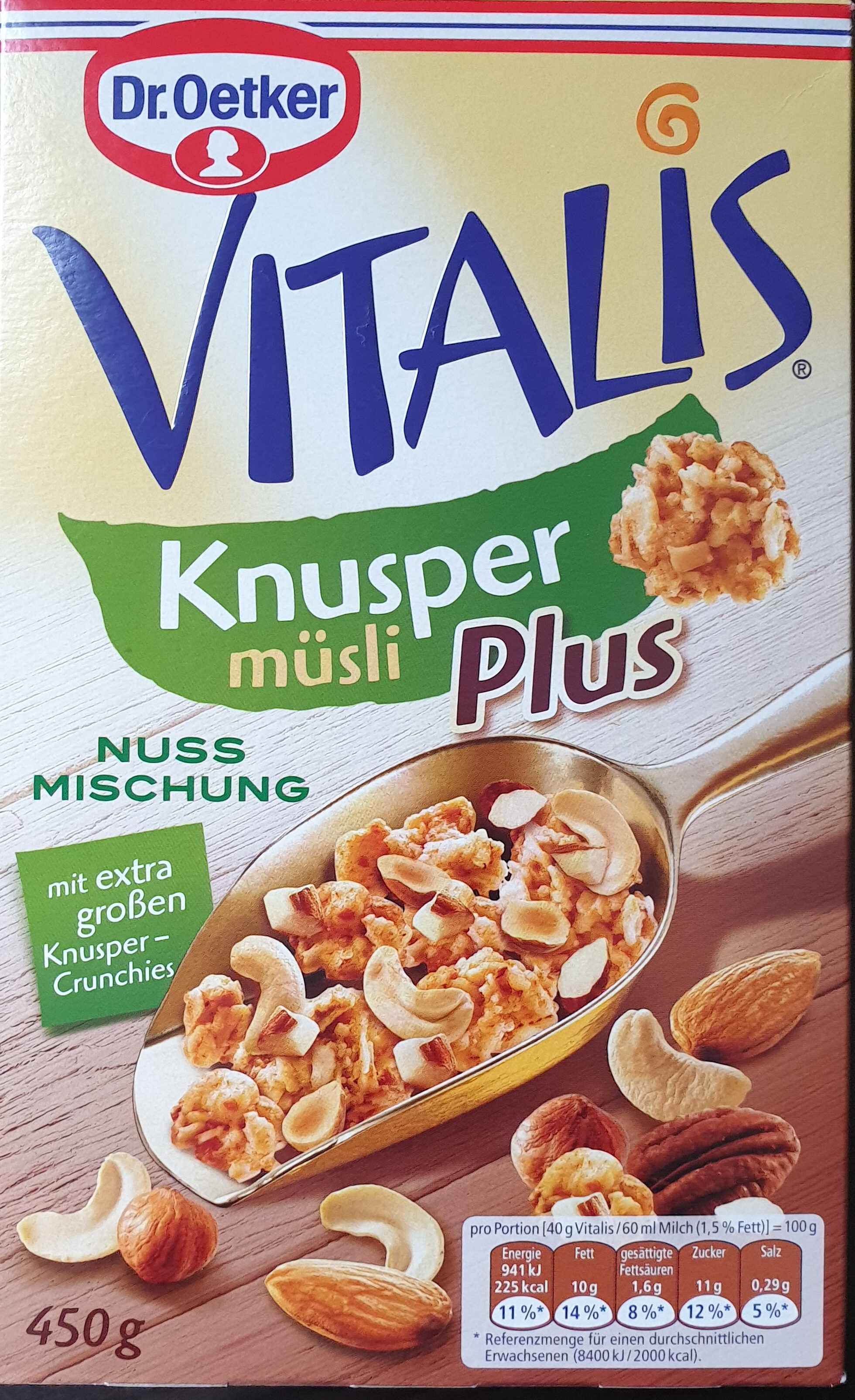 Vitalis knusper Müsli Plus - Product - de
