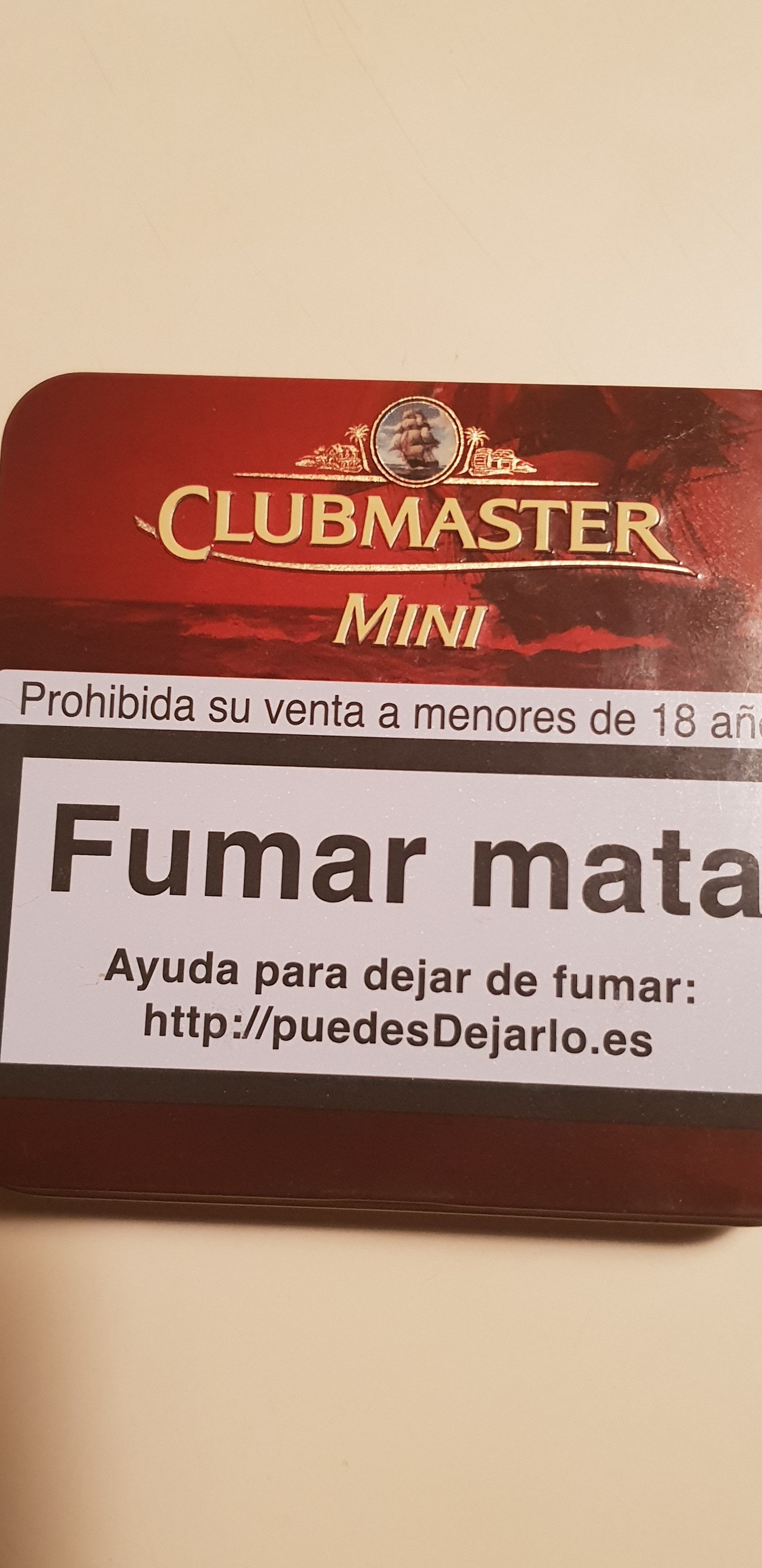 Arnold Andre Clubmaster Superior Vanilla Mini - Product - fr