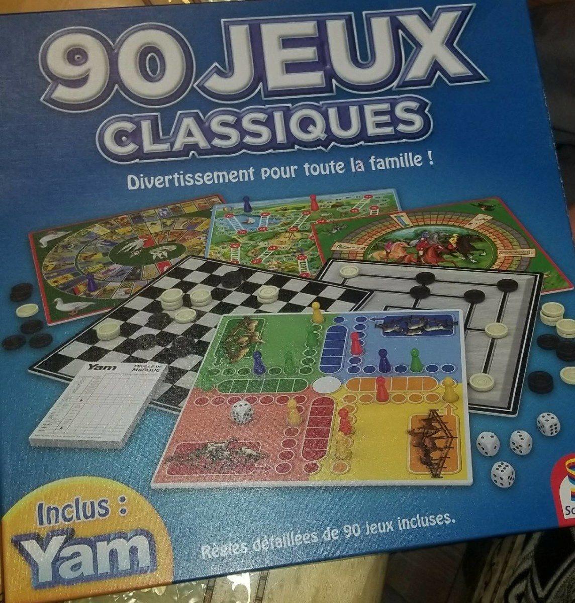 90 jeux classiques - Produit - fr