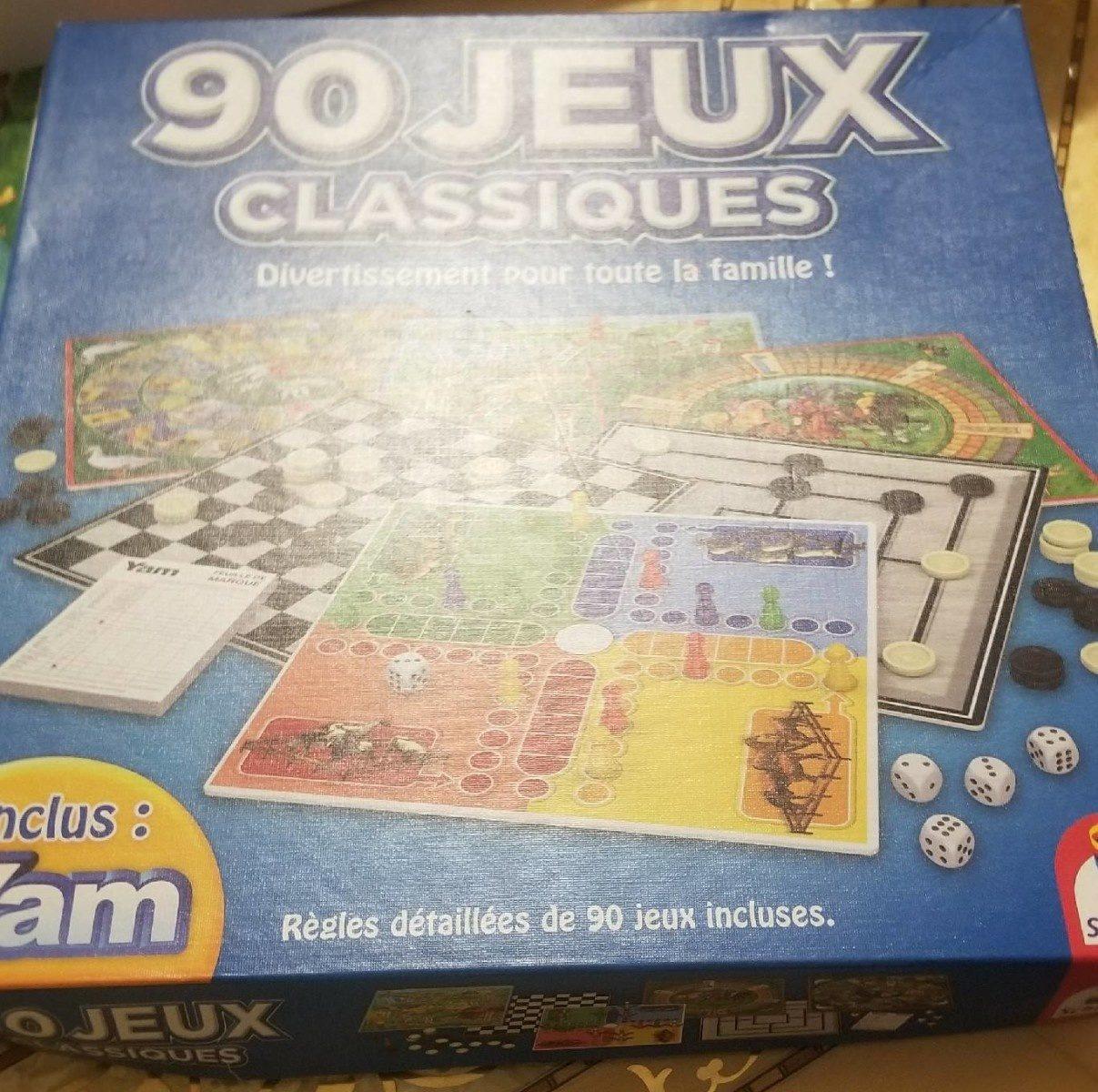 90 jeux classiques - Ingrédients - fr