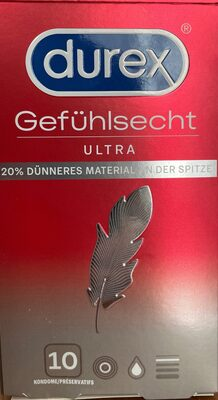 Durex Gefühlsecht - Product - de
