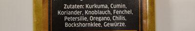 Curry - Ingredients - de