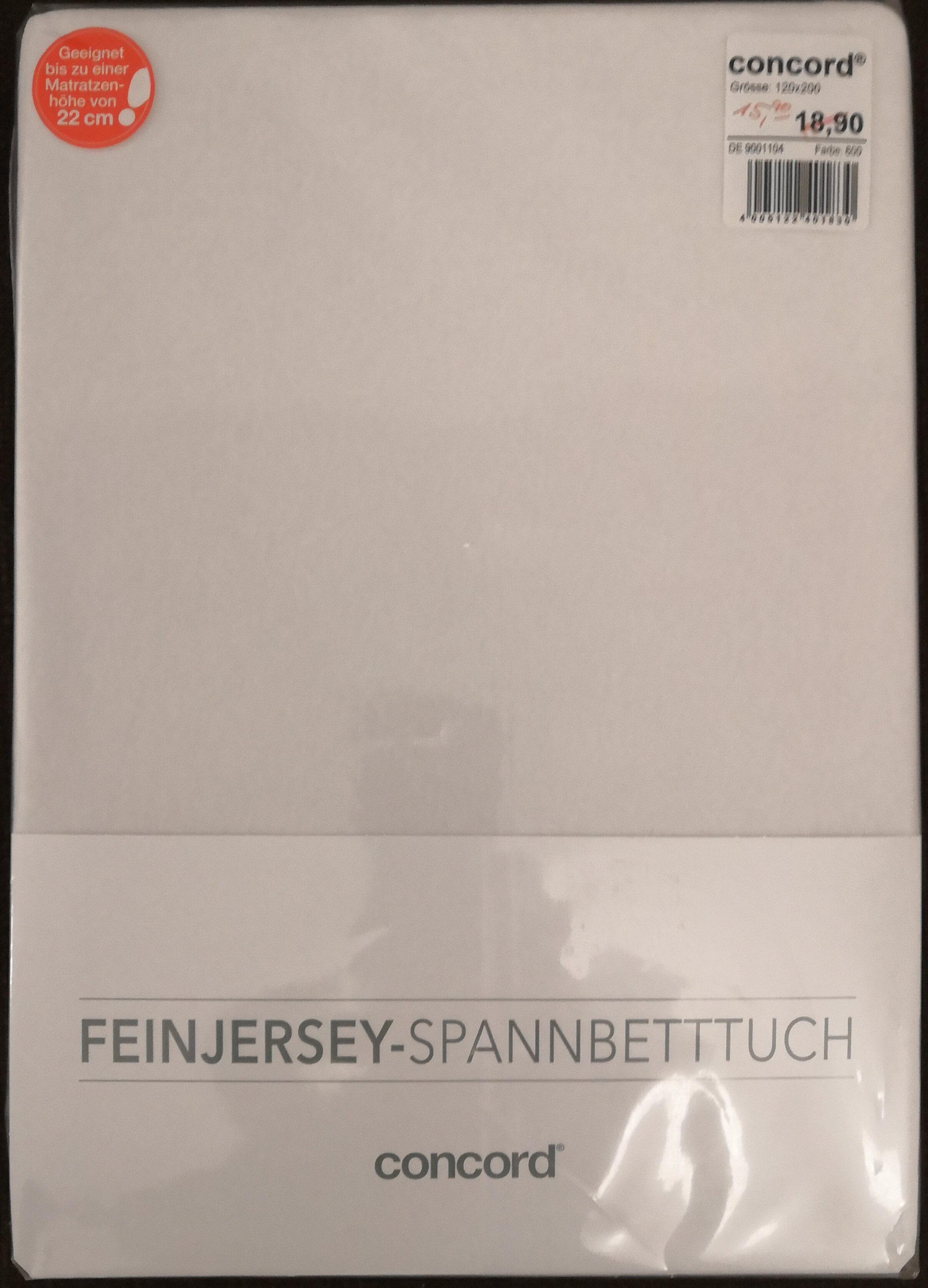 concord Feinjersey-Spannbetttuch - Product
