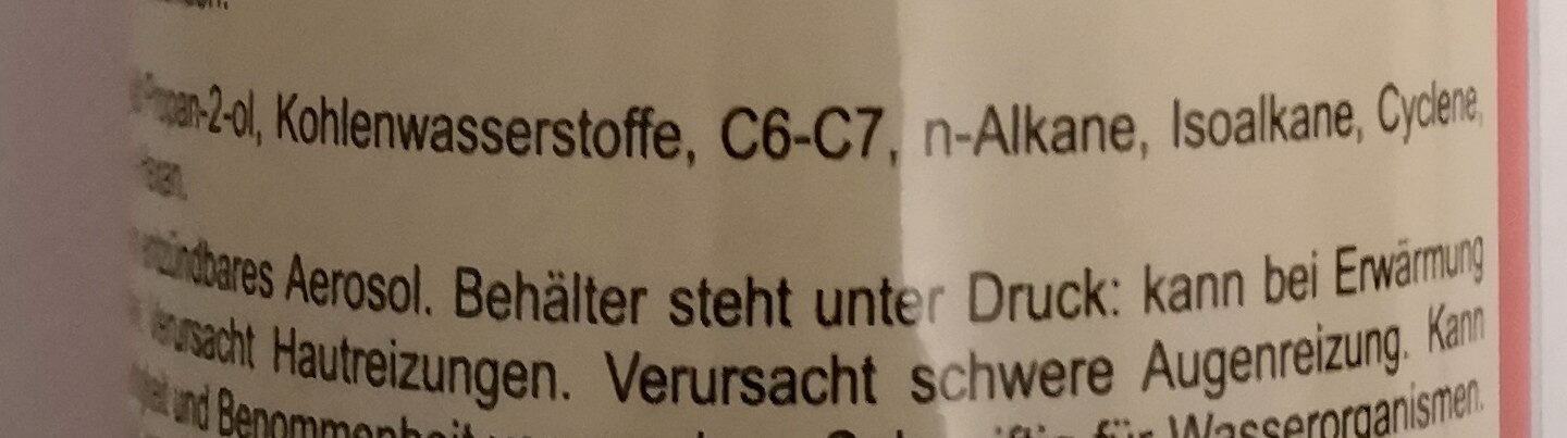Gerzett Insektenspray - Ingredients - de