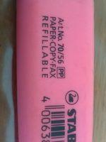 Stabilo Surligneur 'Boss Original',Rose - Ingredients