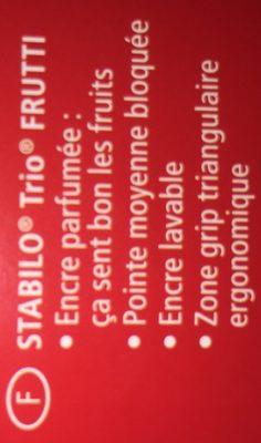 Stabilo Geurstiften 12 Stuks - Ingrédients