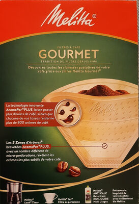 Filtres à café Gourmet 1x4 - Product - fr