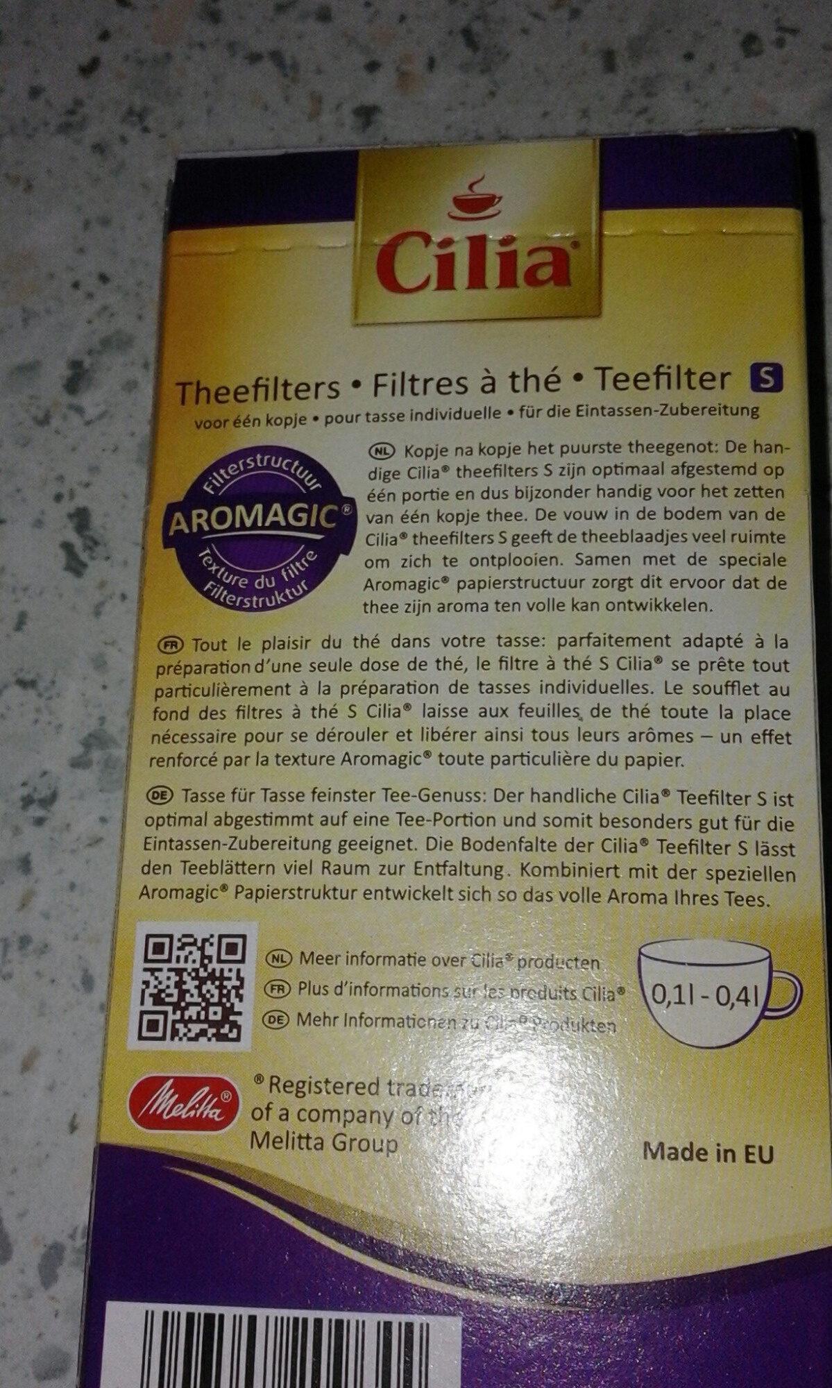 Teefilter S - Product - fr