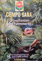 Compo Sana Grünpflanzen- und Palmenerde - Product - de