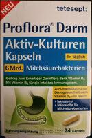 Proflora Darm Aktiv-Kulturen Kapseln – 6 Mrd. Milchsäurebakterien - Product
