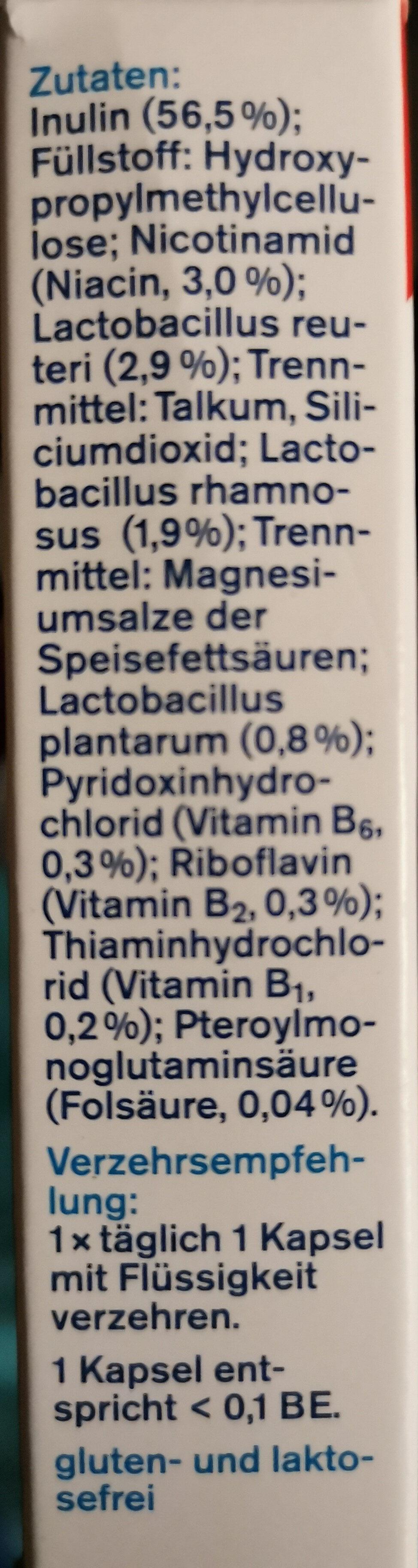 Proflora Darm Aktiv-Kulturen Kapseln – 6 Mrd. Milchsäurebakterien - Ingredients