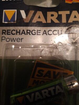 VARTA X4 HR6 Rechargable - Product - fr