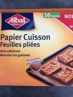 papier cuisson feuilles pliées - Product