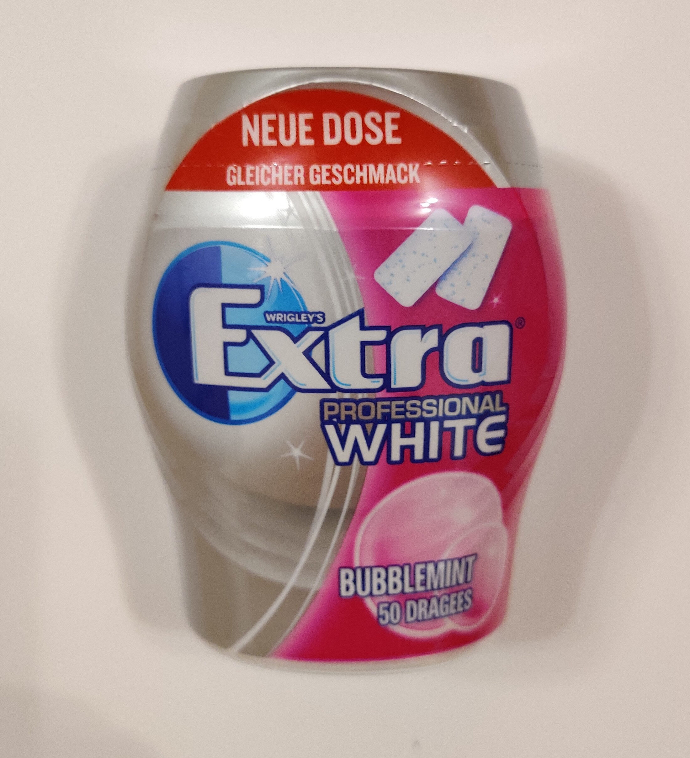 Extra Professional White Bubblemint - Product - de