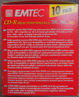 CD-R high performance - Product - en