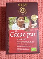 Cacao pur Amaribe - Product - de