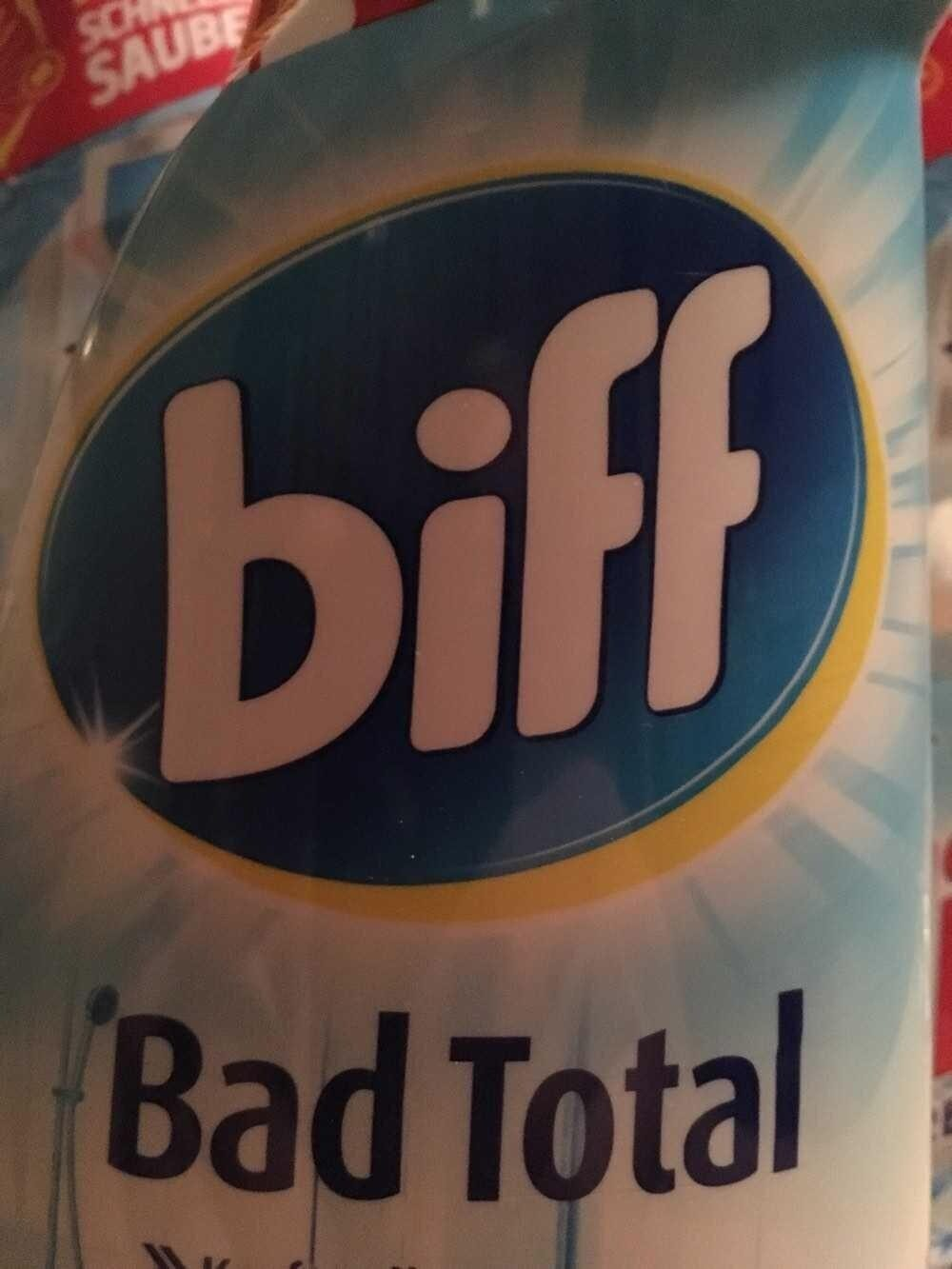 Biff Hygiene Total Bad und WC - Produit - de