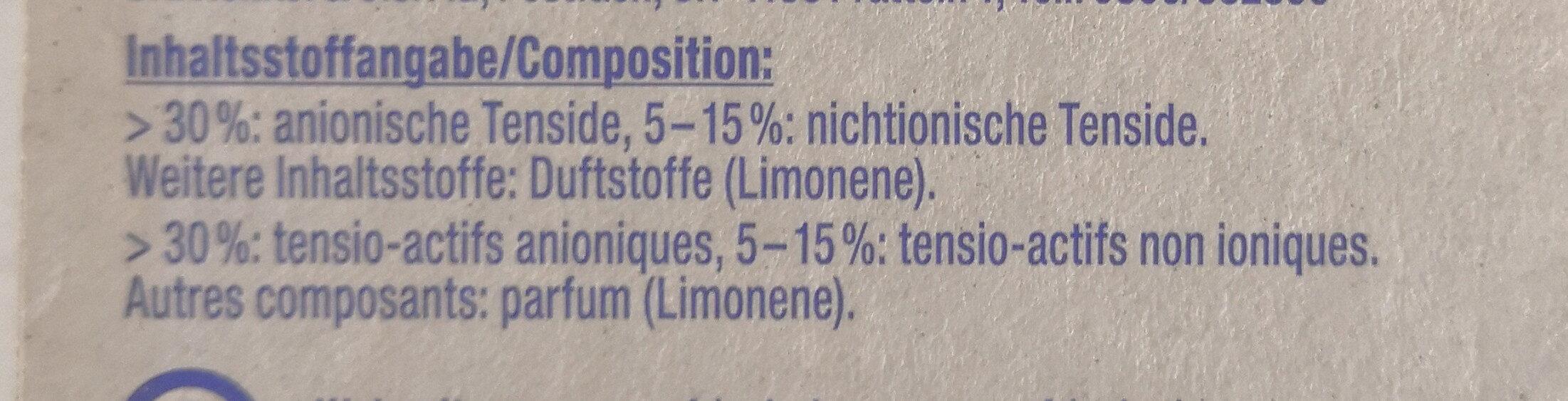 WC Frisch Kraft Aktiv Lemon Super-Pack - Ingredients - de