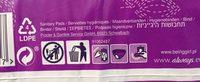 Serviettes hugiénique Ultra Long - Ingredients