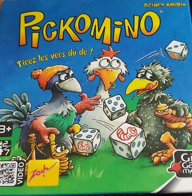 Pickomino - Jeu Gigamic - Ingredients - fr