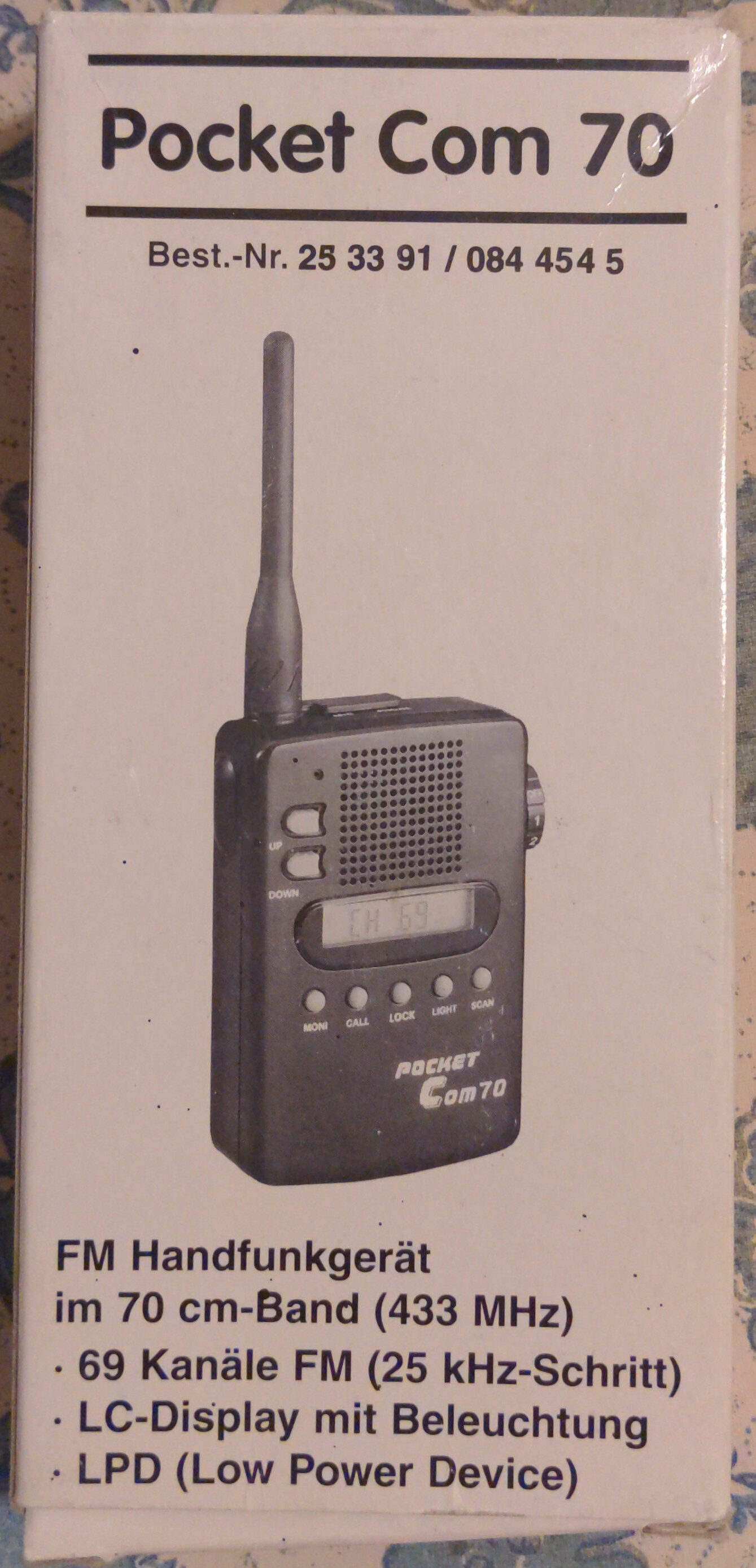 Pocket Com 70 - Produit - fr