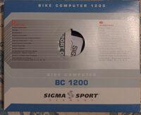 Bike computer 1200 - Produit - fr