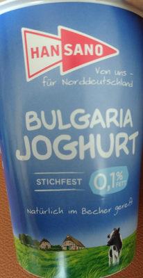 Bulgaria Joghurt - Product