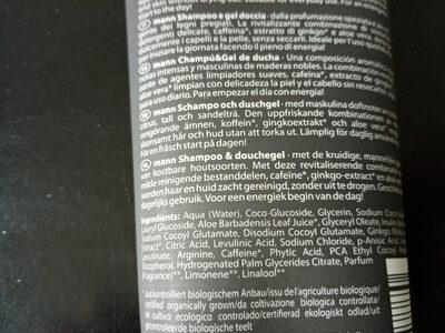 mann Shampoo & Duschgel Ginko & Coffein - Ingredients - de
