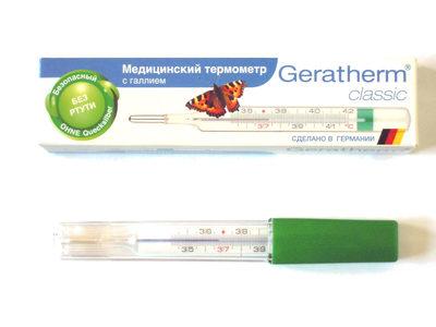 Медицинский термометр с галлием Geratherm classic - Product - ru