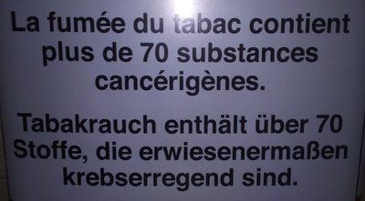 Tabac News - Ingredients