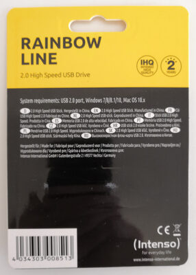 Intenso Rainbow Line - Product - en