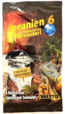 Netto Ozeanien 6 Unglaubliche Naturwunder! 4 Sammelkarten - Product - de