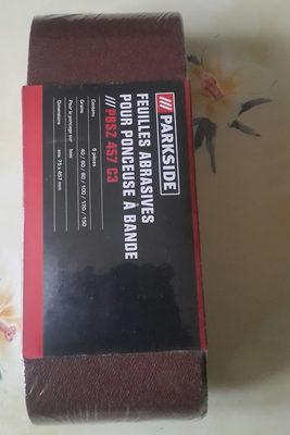 feuilles  abrasives - Product - fr