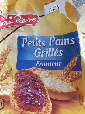 petits pains grillés  froment - Product - fr