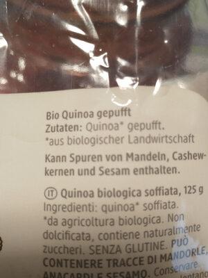 Quinoa gepufft - Ingredients - de