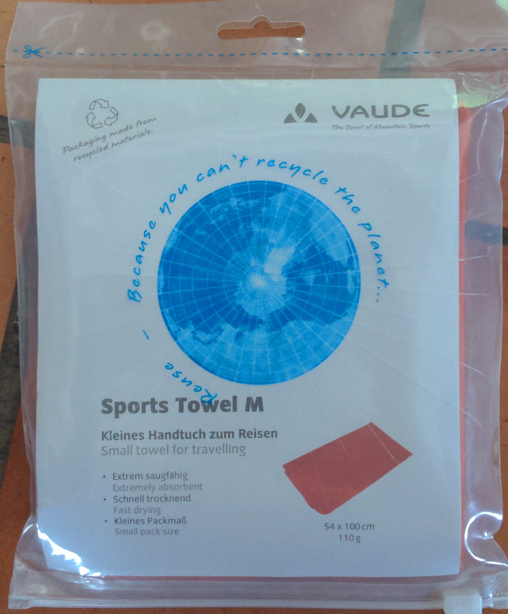 Sports Towel M - Product - en