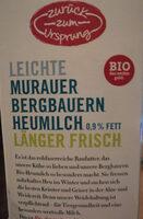 Leichte Murauer Bergbauern Heumilch - Product - de