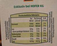 Leichte Murauer Bergbauern Heumilch - Ingredients - de