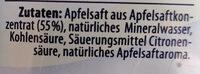 apfelschorle - Ingredients