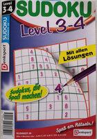 Sudoku, Level 3-4, Nummer 36 - Product - de