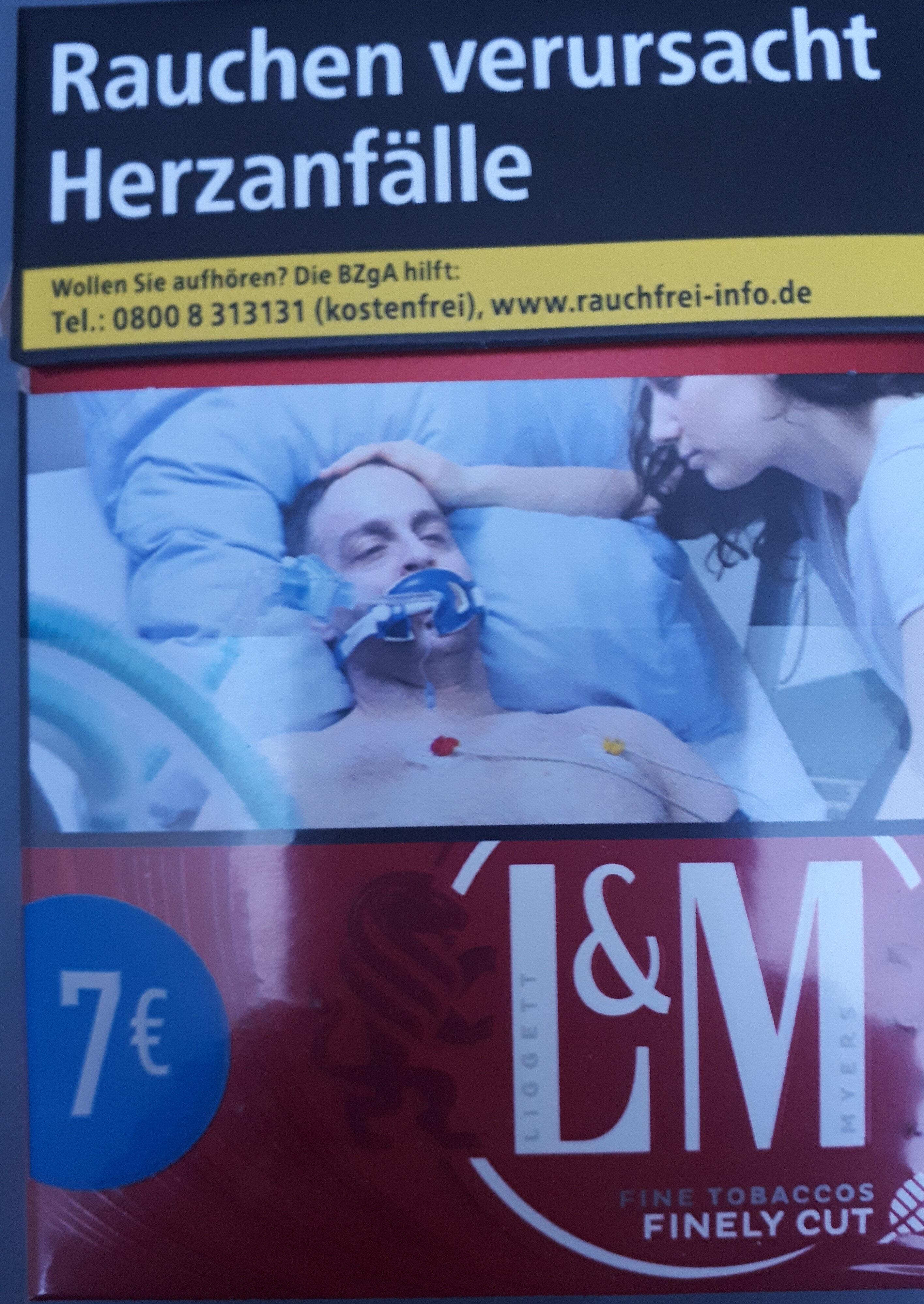 L&M Fine Tabaccos Finely cut - Product - de
