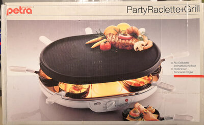 Petra Electric PartyRaclette + Grill - Product - de