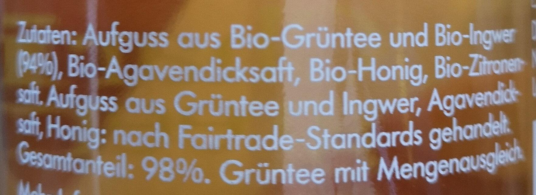 ChariTea® green - Ingredients - de