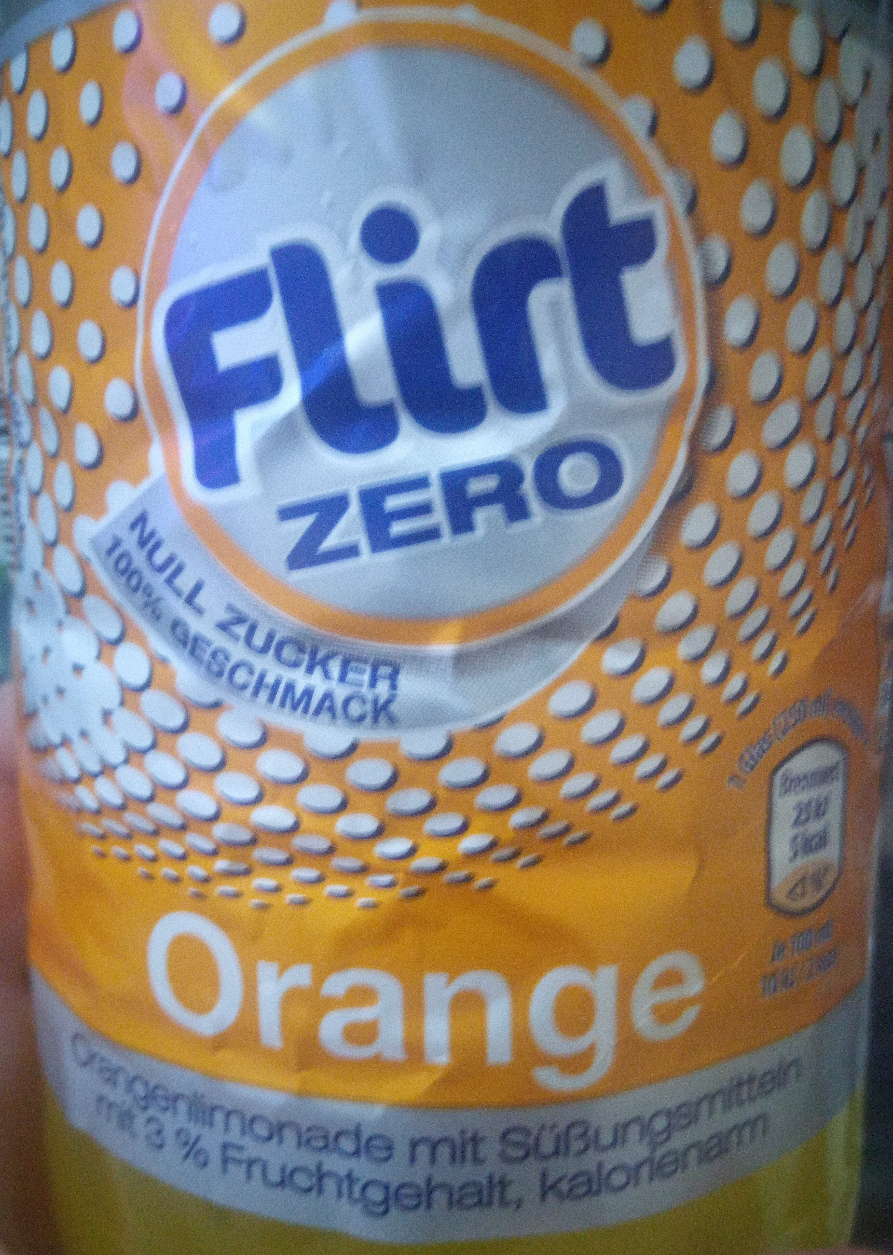 Flirt ZERO Orange - Product - de
