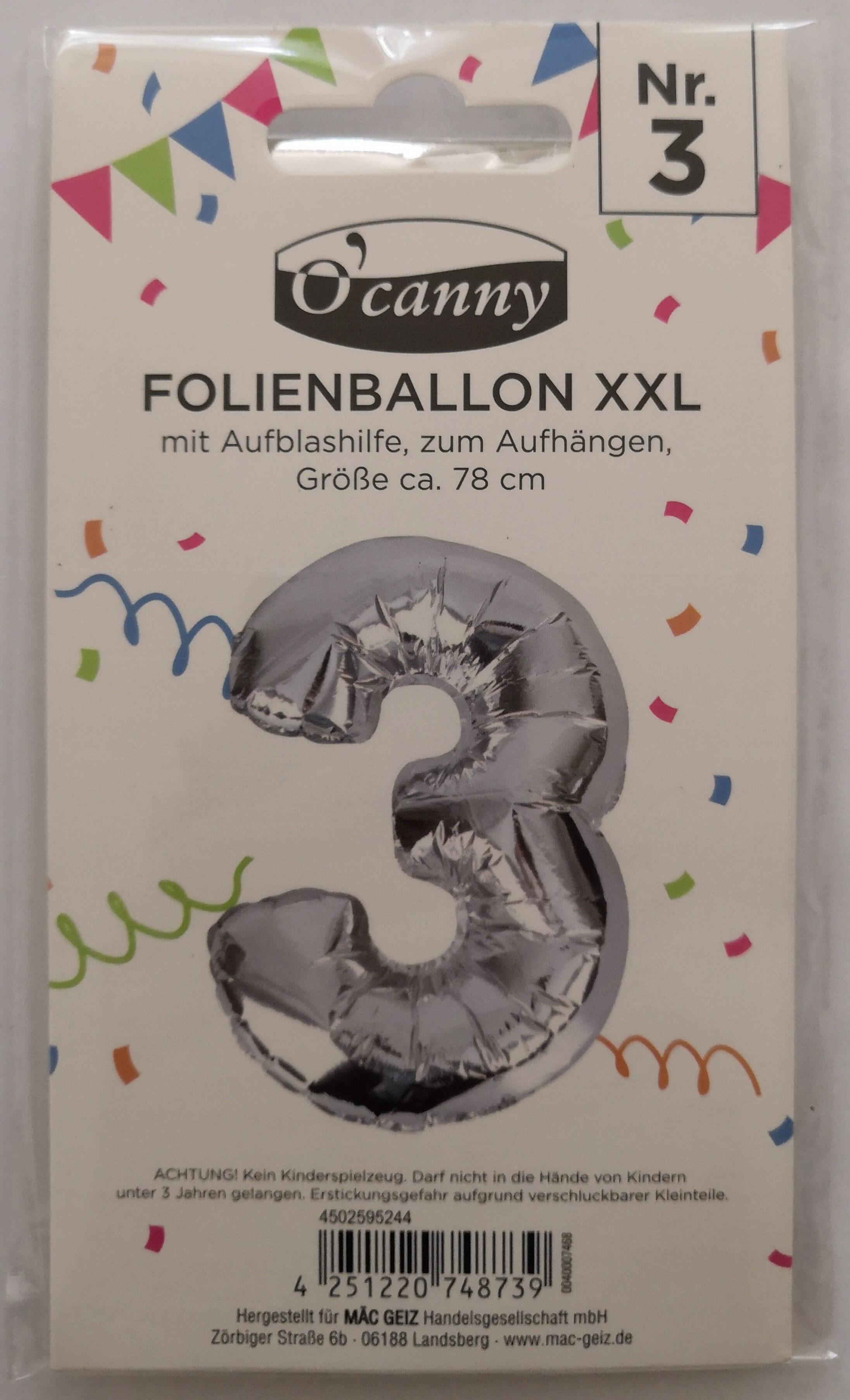 Folienballon XXL - Product - de