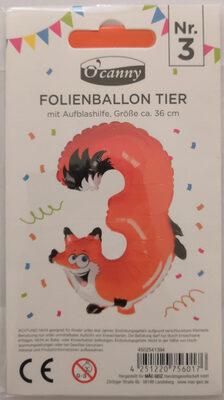 Folienballon Tier - Product - de