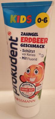 prokudent Kids Zahngel Erdbeer Geschmack - Product