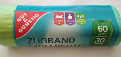 Zugband Müllbeutel - Product - de