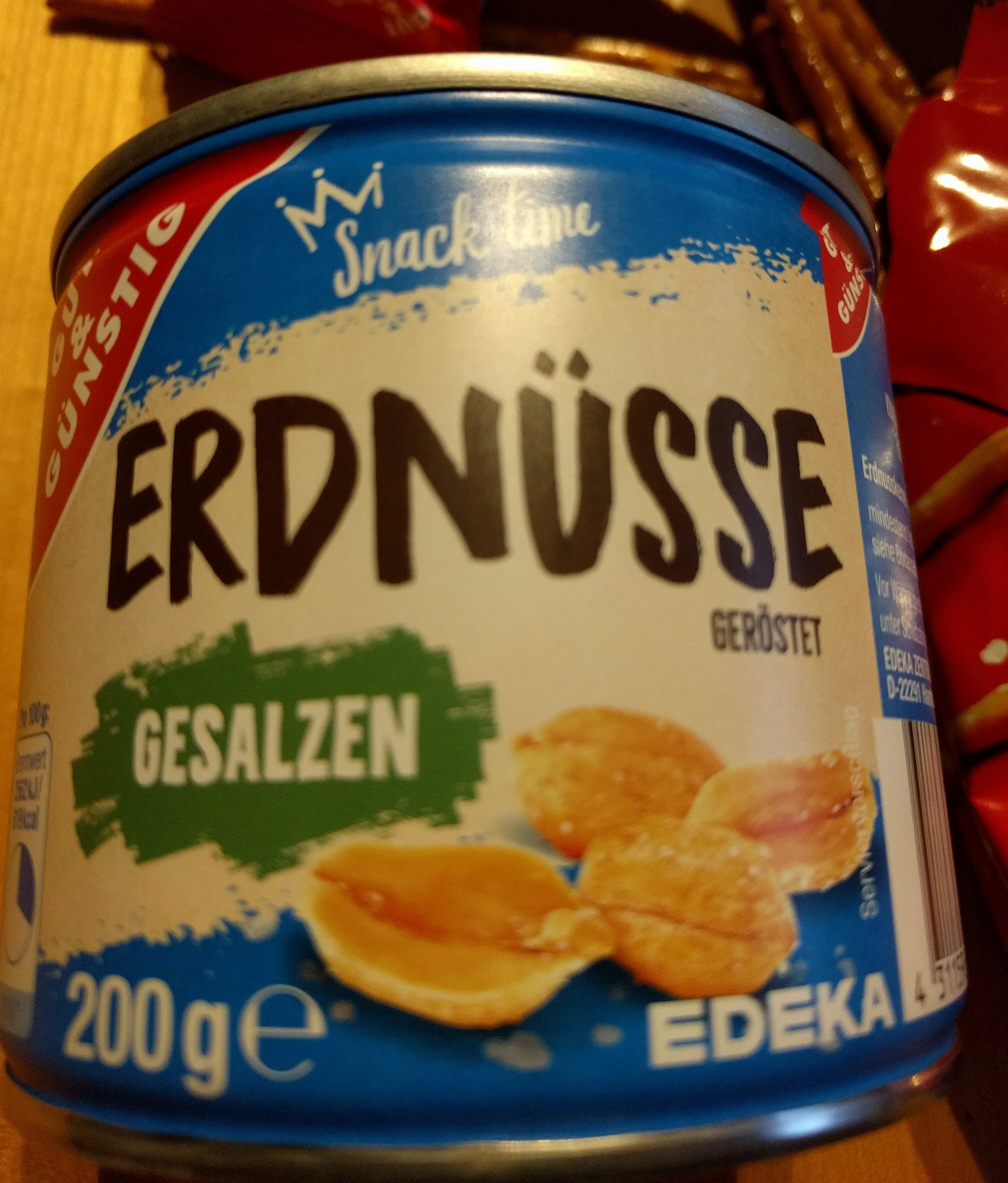 Erdnüsse gesalzen - Product - de